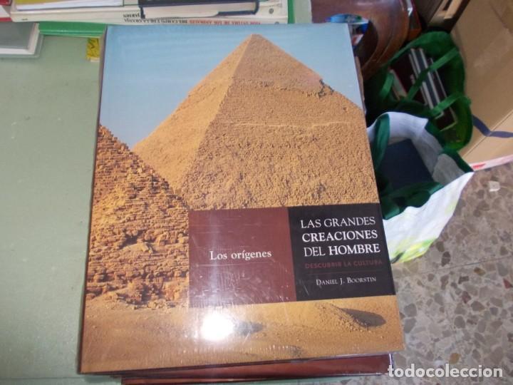 Libros de segunda mano: Las Grandes Creaciones del Hombre, descubrir la Cultura. 4 tomos Daniel J. Boorstin. Espasa 2.005 - Foto 2 - 153438254