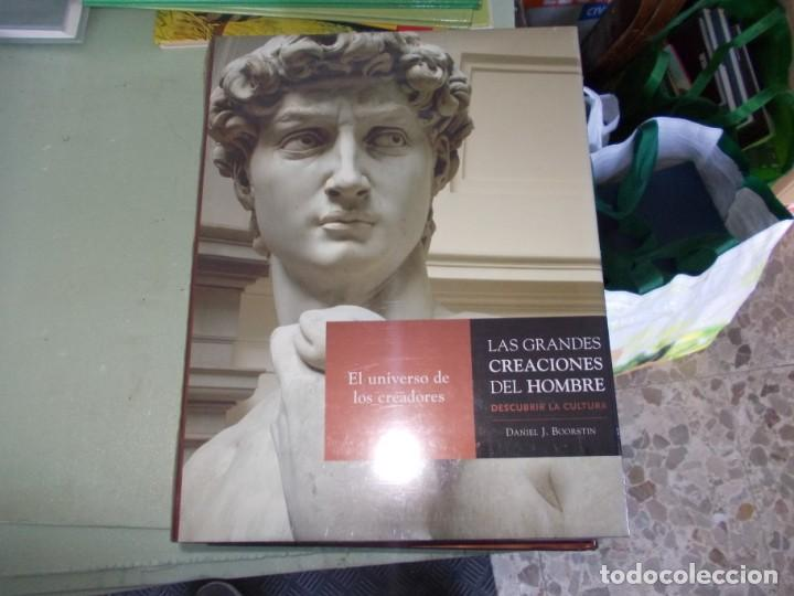 Libros de segunda mano: Las Grandes Creaciones del Hombre, descubrir la Cultura. 4 tomos Daniel J. Boorstin. Espasa 2.005 - Foto 3 - 153438254