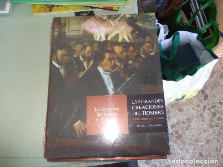 Libros de segunda mano: Las Grandes Creaciones del Hombre, descubrir la Cultura. 4 tomos Daniel J. Boorstin. Espasa 2.005 - Foto 4 - 153438254
