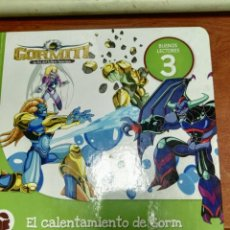 Libros de segunda mano: GORMITI EL CALENTAMIENTO DE GORM. Lote 153462006