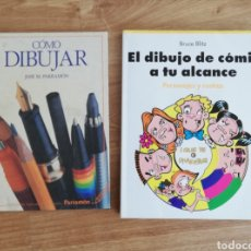 Libros de segunda mano: LOTE MÉTODOS CURSOS CÓMO DIBUJAR Y DIBUJAR COMICS. MUY BUENOS. Lote 153471981