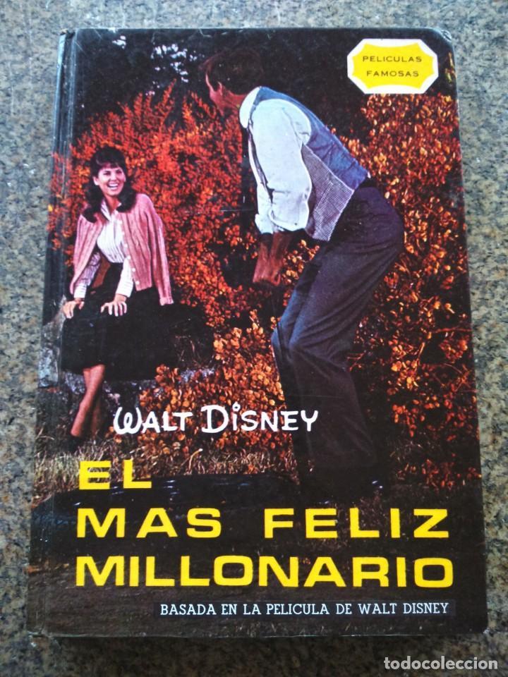 EL MAS FELIZ MILLONARIO -- WALT DISNEY -- PELICULAS FAMOSAS -- EDICIONES GAISA 1968 -- (Libros de Segunda Mano - Literatura Infantil y Juvenil - Otros)