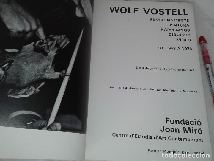 Libros de segunda mano: VOSTELL, FUNDACIO JOAN MIRO, EN CATALAN - Foto 2 - 153489846
