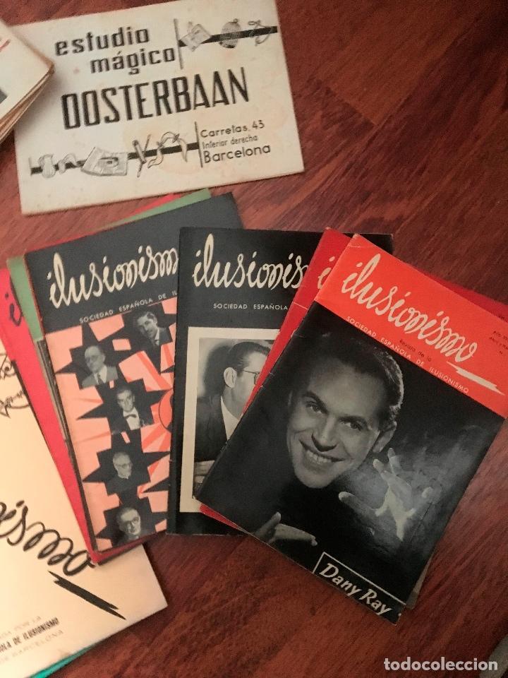 Libros de segunda mano: LOTE DE 34 REVISTAS ILUSIONISMO MAGIA SOCIEDAD ESPAÑOLA DE ILUSIONISMO AÑOS 50 - Foto 2 - 153565942