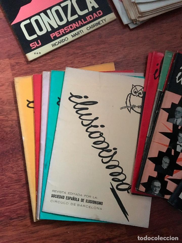 Libros de segunda mano: LOTE DE 34 REVISTAS ILUSIONISMO MAGIA SOCIEDAD ESPAÑOLA DE ILUSIONISMO AÑOS 50 - Foto 3 - 153565942