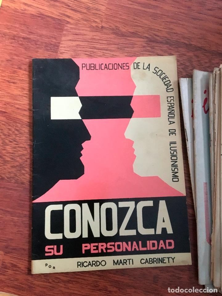 Libros de segunda mano: LOTE DE 34 REVISTAS ILUSIONISMO MAGIA SOCIEDAD ESPAÑOLA DE ILUSIONISMO AÑOS 50 - Foto 4 - 153565942