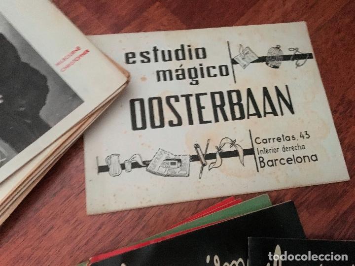 Libros de segunda mano: LOTE DE 34 REVISTAS ILUSIONISMO MAGIA SOCIEDAD ESPAÑOLA DE ILUSIONISMO AÑOS 50 - Foto 5 - 153565942