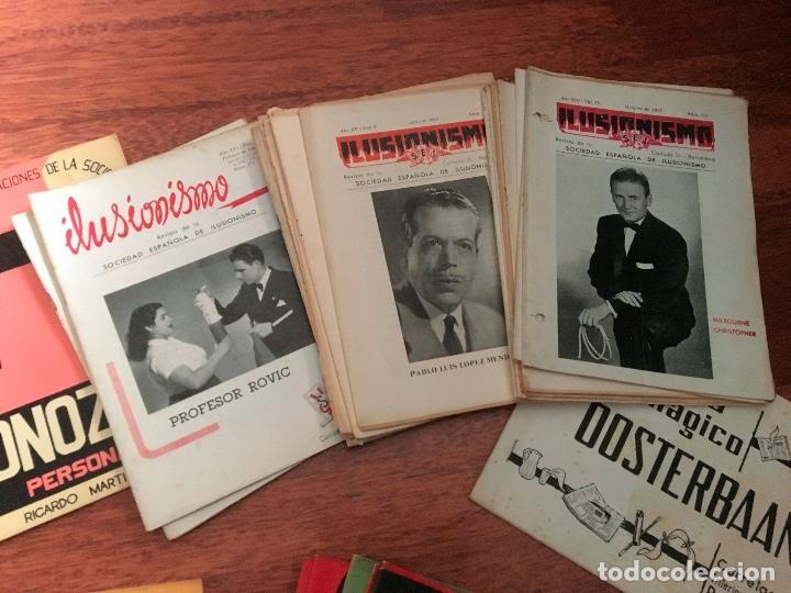Libros de segunda mano: LOTE DE 34 REVISTAS ILUSIONISMO MAGIA SOCIEDAD ESPAÑOLA DE ILUSIONISMO AÑOS 50 - Foto 6 - 153565942