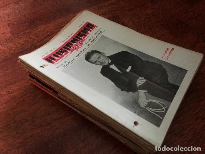 Libros de segunda mano: LOTE DE 34 REVISTAS ILUSIONISMO MAGIA SOCIEDAD ESPAÑOLA DE ILUSIONISMO AÑOS 50 - Foto 7 - 153565942