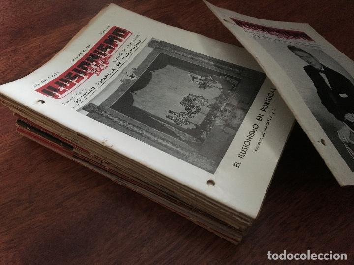 Libros de segunda mano: LOTE DE 34 REVISTAS ILUSIONISMO MAGIA SOCIEDAD ESPAÑOLA DE ILUSIONISMO AÑOS 50 - Foto 8 - 153565942