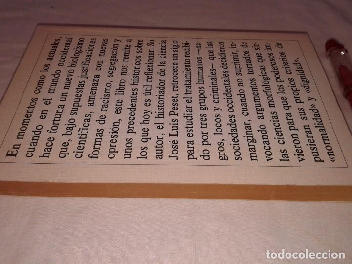 Libros de segunda mano: JOSE LUIS PESET, CIENCIA Y MARGINACION, 1983 - Foto 3 - 153577930