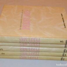 Libros de segunda mano: EL FASCINANTE MUNDO DE LOS PERFUMES - 5 TOMOS - PLANETA. Lote 156675349