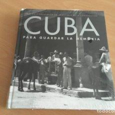 Libros de segunda mano: CUBA PARA GUARDAR LA MEMORIA - NUEVO Y PRECINTADO. Lote 153680338