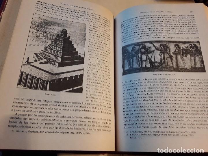 Libros de segunda mano: Las sectas y las sociedades secretas a traves de la Historia, de Santiago Valenti. Mexico. Facsimil. - Foto 5 - 144664166