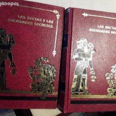Libros de segunda mano: LAS SECTAS Y LAS SOCIEDADES SECRETAS A TRAVES DE LA HISTORIA, DE SANTIAGO VALENTI. MEXICO. FACSIMIL.. Lote 144664166