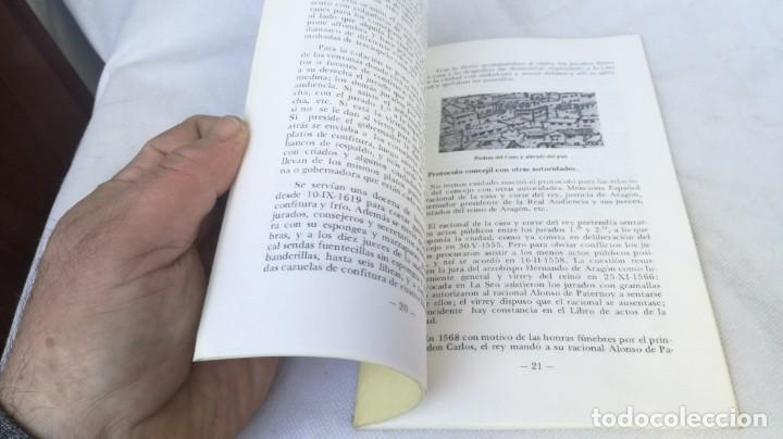 Libros de segunda mano: CUADERNOS DE ZARAGOZA 38 - EFEMÉRIDES CONCEJILES SIGLOS XVI XVII - ANGEL CANELLAS LOPEZ - Foto 5 - 153704934