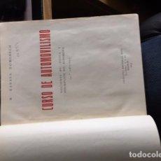 Libros de segunda mano: CURSO DE AUTOMOVILISMO RABASA 1953. Lote 153801882