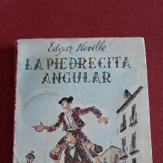 Libros de segunda mano: LA PIEDRECITA ANGULAR. EDGAR NEVILLE. EL CLUB DE LA SONRISA 1º EDICION 1957. Lote 153837930