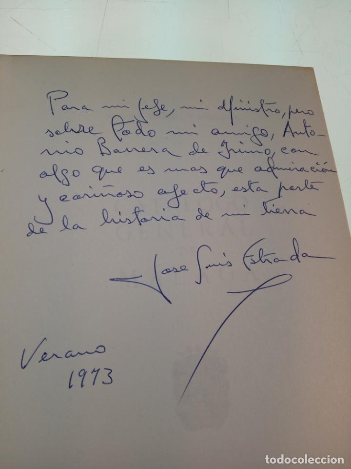 Libros de segunda mano: CATÁLOGO GENERAL DE MÁLAGA - JOSÉ LUIS ESTRADA Y SEGALERVA -FIRMADO Y DEDICADO - MÁLAGA - 1973 - - Foto 2 - 153844954
