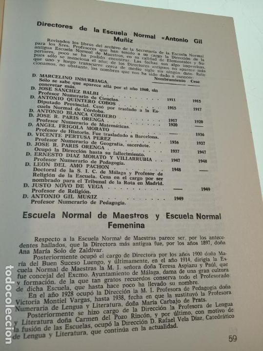 Libros de segunda mano: CATÁLOGO GENERAL DE MÁLAGA - JOSÉ LUIS ESTRADA Y SEGALERVA -FIRMADO Y DEDICADO - MÁLAGA - 1973 - - Foto 6 - 153844954