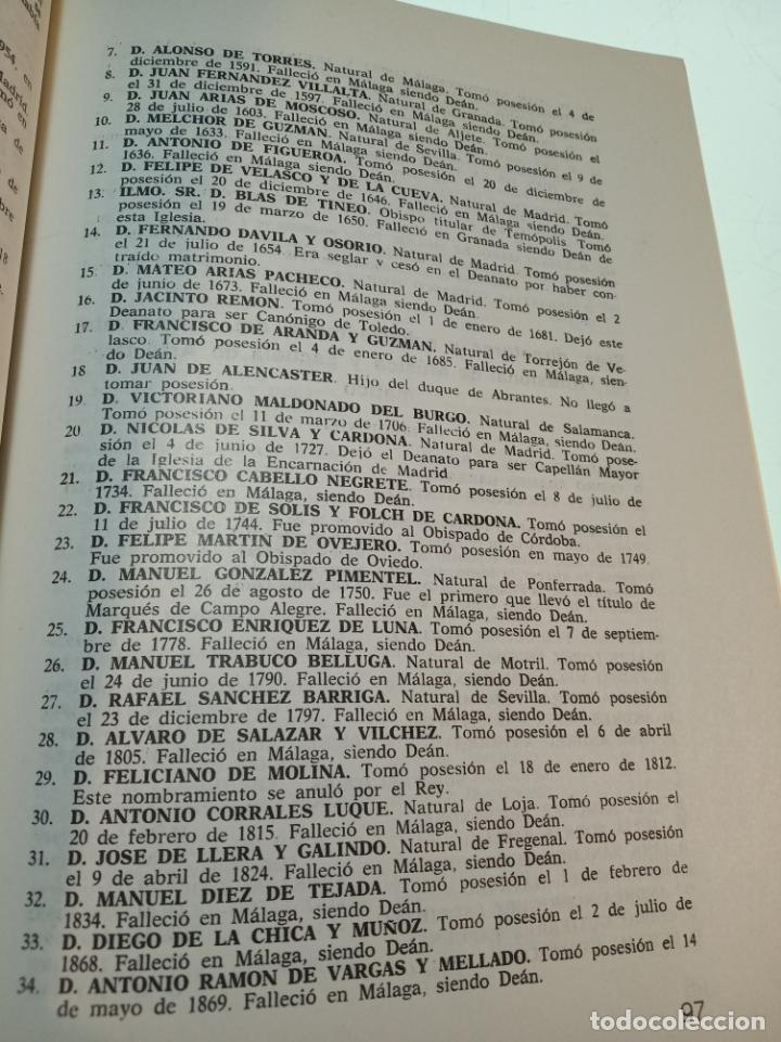 Libros de segunda mano: CATÁLOGO GENERAL DE MÁLAGA - JOSÉ LUIS ESTRADA Y SEGALERVA -FIRMADO Y DEDICADO - MÁLAGA - 1973 - - Foto 7 - 153844954