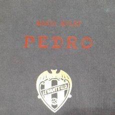 Libros de segunda mano: DELEGACION PEÑAS LEVANTINAS - MARIA MULLET 1956. Lote 153894458