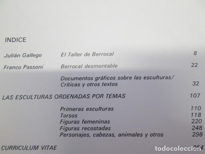 Libros de segunda mano: ANTOLOGIA BERROCAL 1955-1984. MINISTERIO DE CULTURA. 1984. VER FOTOGRAFIAS ADJUNTAS - Foto 8 - 153911642