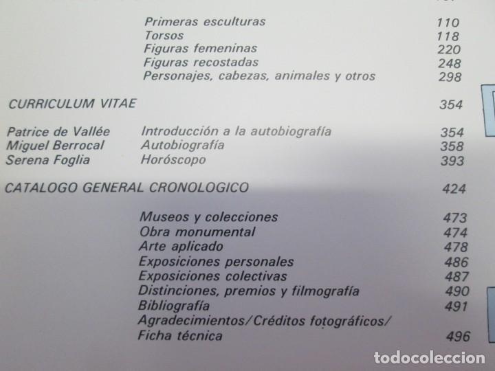 Libros de segunda mano: ANTOLOGIA BERROCAL 1955-1984. MINISTERIO DE CULTURA. 1984. VER FOTOGRAFIAS ADJUNTAS - Foto 9 - 153911642