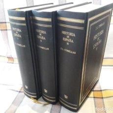 Libros de segunda mano: HISTORIA DE ESPAÑA, JOSE COMELLAS, ED. RBA. TAPA DURA. 3VOLS. EXCELENTE ESTADO. Lote 163666992