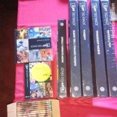 Libros de segunda mano: COLECCION JOYAS DEL ARTE - 5 TOMOS + 12 DVD + GUIA DE CONSULTA - PLANETA 2017.PRECINTADOS.. Lote 153938162