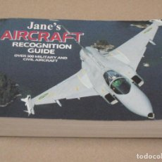 Libros de segunda mano: JANE'S AIRCRAFT. RECOGNITION GUIDE - OVER 500 MILITARY AND CIVIL AIRCRAFT.. Lote 153957426