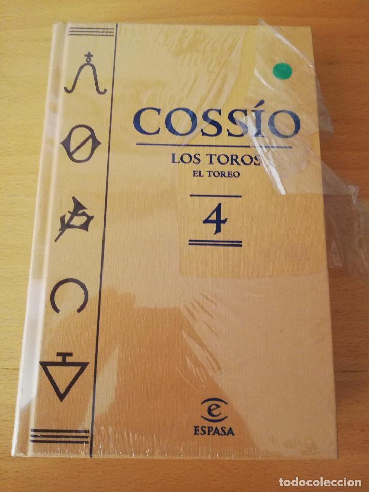 COSSÍO. LOS TOROS. EL TOREO (Nº 4) ESPASA (Libros de Segunda Mano - Bellas artes, ocio y coleccionismo - Otros)