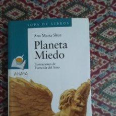 Libros de segunda mano: PLANETA MIEDO. Lote 154027542