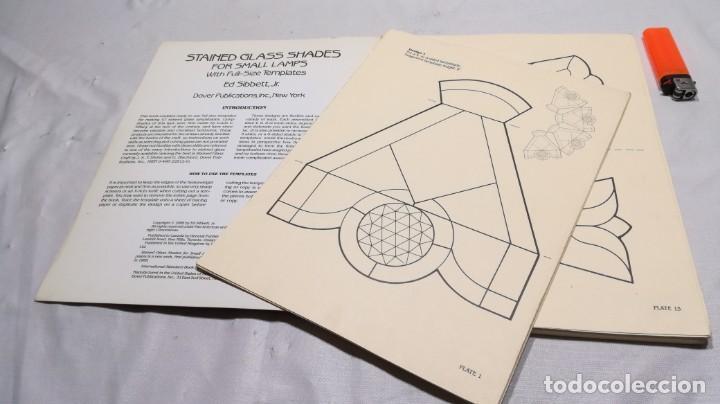 Libros de segunda mano: STAINED GLASS SHADES FOR SMALL LAMPS WITH FULL-SIZE TEMPLATES - PLANTILLAS LAMPARAS VIDRIO TEMPLADO - Foto 8 - 154038042