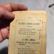 Libros de segunda mano: ANTIGUO PEQUEÑO LIBRO / LIBRITO DE REFRANES O FRASES HECHAS AÑOS 10-20. Lote 154046978