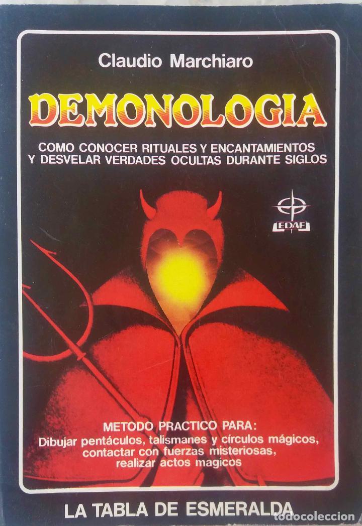 DEMONOLOGÍA. CLAUDIO MARCHIARO. LA TABLA ESMERALDA. LIBRO (Libros de Segunda Mano - Parapsicología y Esoterismo - Otros)