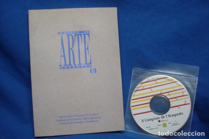 SEMINARIO DE ARTE ARAGONÉS XLV - INSTITUCIÓN FERNANDO EL CATÓLICO 1991 (Libros de Segunda Mano - Bellas artes, ocio y coleccionismo - Otros)