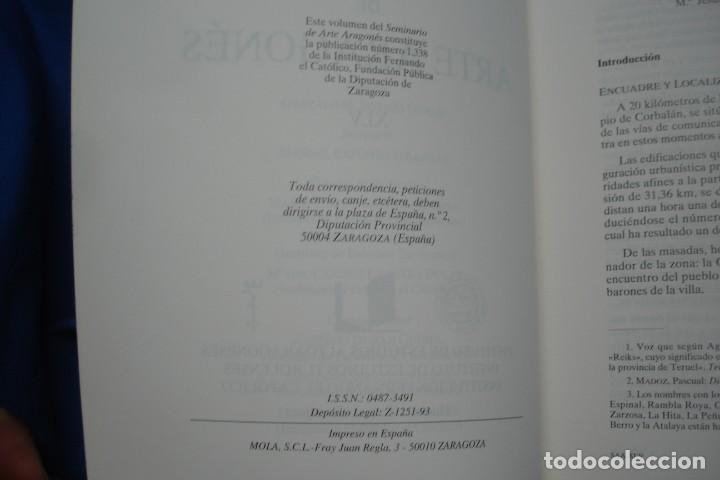 Libros de segunda mano: SEMINARIO DE ARTE ARAGONÉS XLV - INSTITUCIÓN FERNANDO EL CATÓLICO 1991 - Foto 3 - 154120878