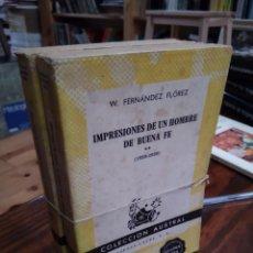 Libros de segunda mano: IMPRESIONES DE UN HOMBRE BUENA FE (1920-1936). Lote 154186581