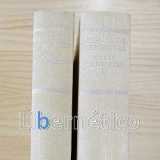 Libros de segunda mano: OBRAS COMPLETAS. MIGUEL DE CERVANTES. AGUILAR . Lote 154192654