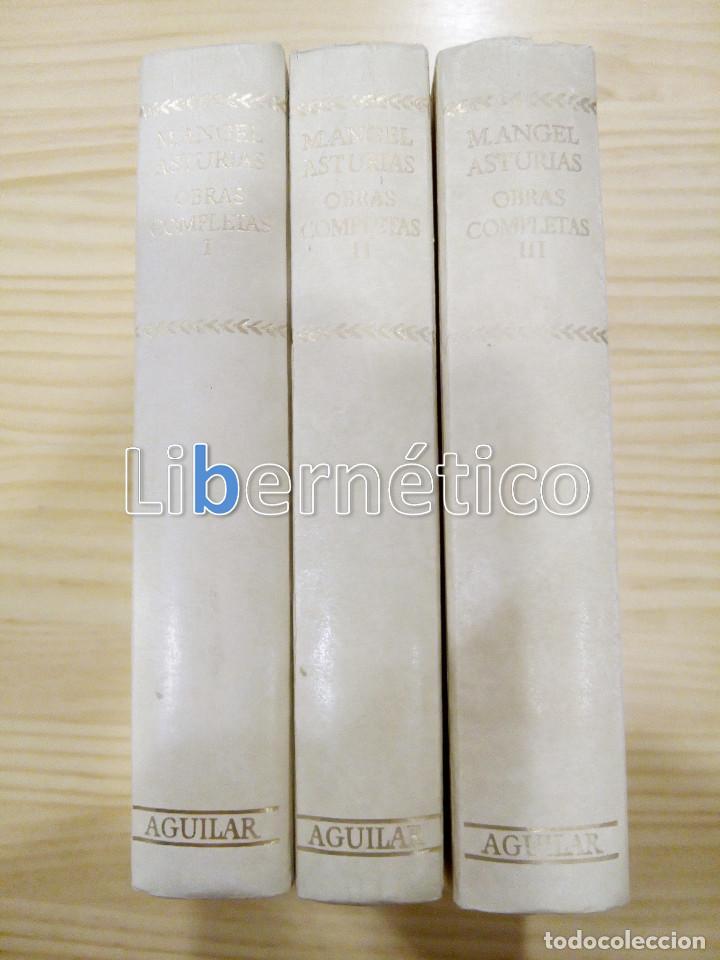 OBRAS COMPLETAS. M. ÁNGEL ASTURIAS. AGUILAR (Libros de Segunda Mano (posteriores a 1936) - Literatura - Otros)