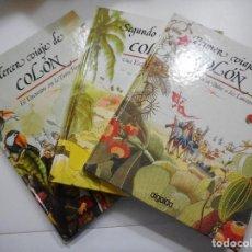 Libros de segunda mano: ANTONIO GARCÍA BENÍTEZ, JOSÉ MARÍA GARCÍA FUENTES VIAJES DE COLÓN(3 TOMOS) Y92886. Lote 154267202
