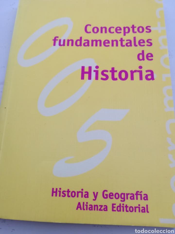 CONCEPTOS FUNDAMENTALES DE HISTORIA ALIANZA EDITORIAL (Libros de Segunda Mano - Historia - Otros)