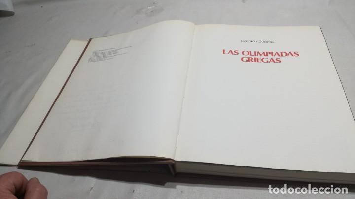 Libros de segunda mano: LAS OLIMPIADAS GRIEGAS, CONRADO DURANTEZ. ED.COMITE OLIMPICO - Foto 6 - 154336634