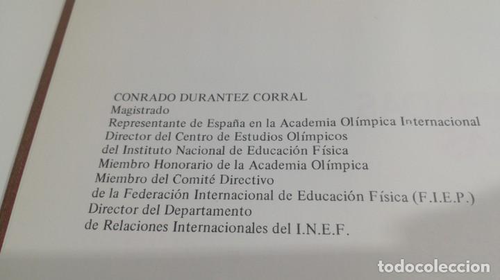 Libros de segunda mano: LAS OLIMPIADAS GRIEGAS, CONRADO DURANTEZ. ED.COMITE OLIMPICO - Foto 7 - 154336634