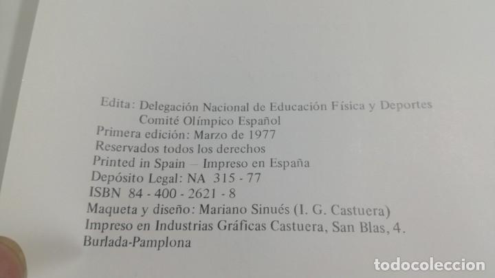 Libros de segunda mano: LAS OLIMPIADAS GRIEGAS, CONRADO DURANTEZ. ED.COMITE OLIMPICO - Foto 8 - 154336634