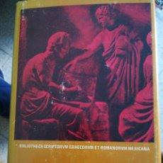 Libros de segunda mano: PERSIO SÁTIRAS. Lote 154386261