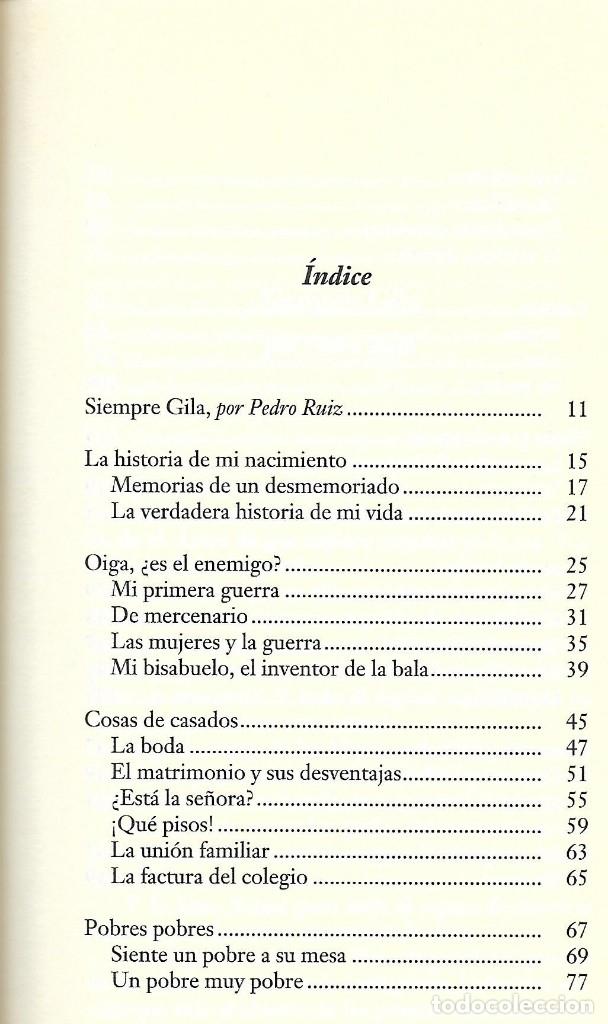 Libros de segunda mano: Siempre Gila. Antología de sus mejores monólogos. Miguel Gila - Foto 2 - 138058242