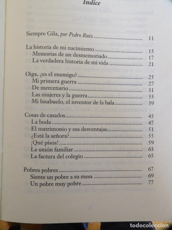 Libros de segunda mano: SIEMPRE GILA - Foto 5 - 148502078