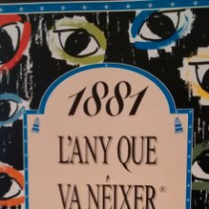 Libros de segunda mano: 1881, L´ANY QUE VA NEIXER PICASSO, 1756, L´ANY QUE VA NEIXER MOZART(ACV). Lote 154518210